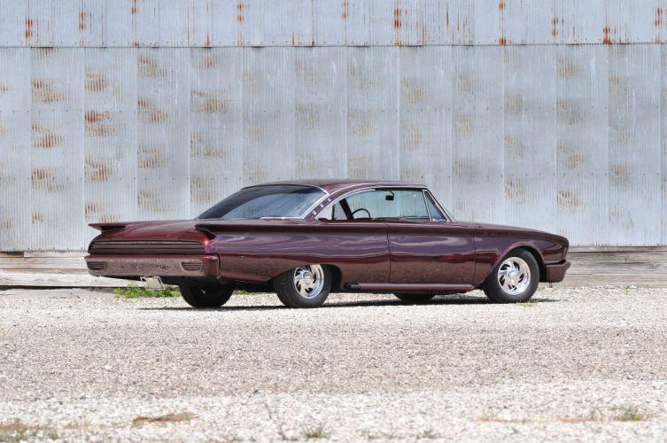 1960 Ford Starliner Streerod Street Hot Rod Custom USA 4200x2790-03 wallpaper