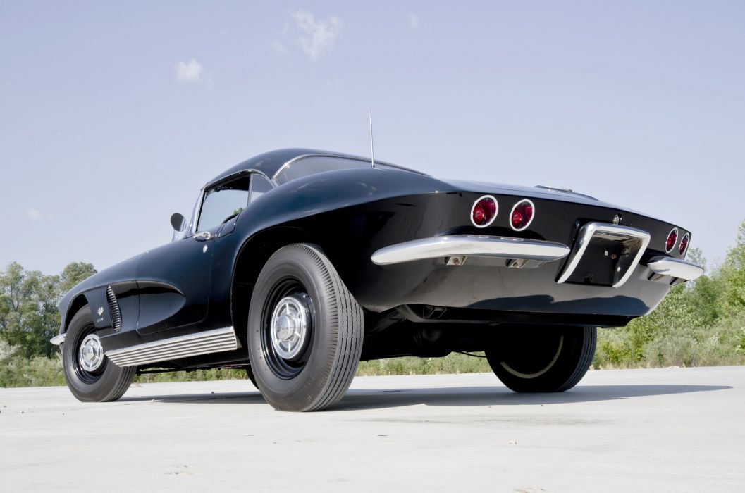1962 Chevrolet Corvette Convertible Big Brake Fuelie Muscle Classic USA 4200x2780-07 wallpaper