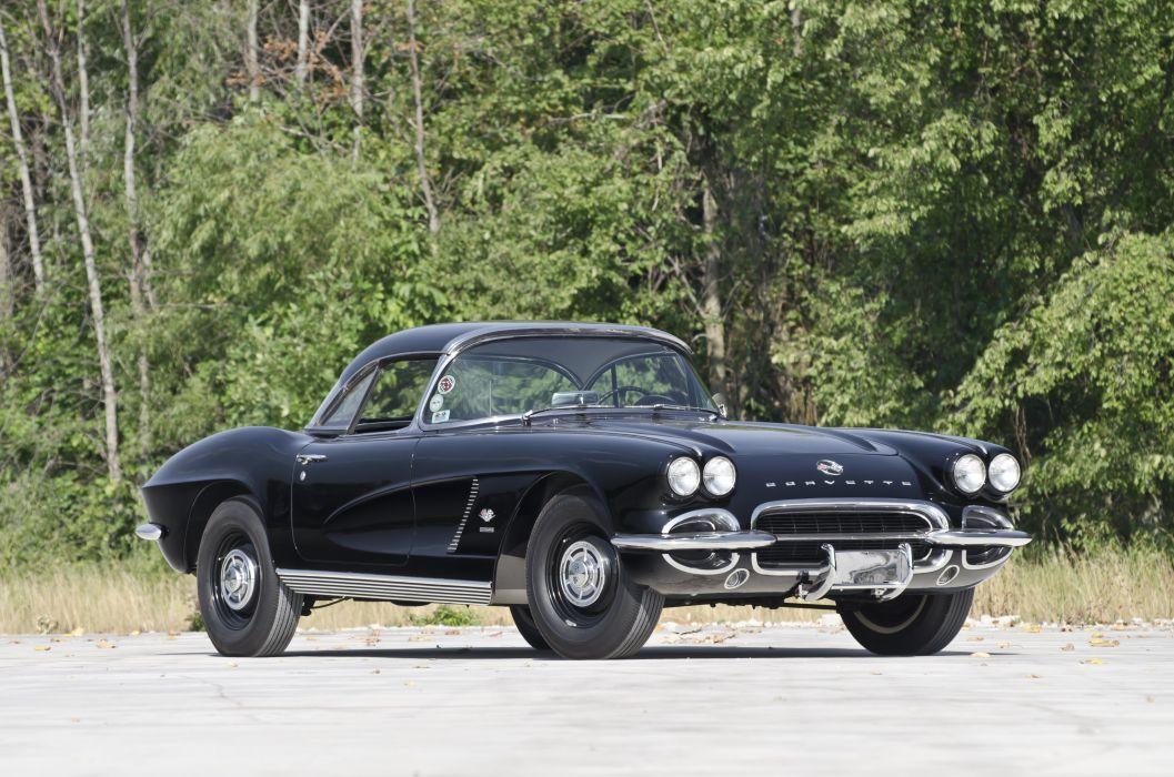 1962 Chevrolet Corvette Convertible Big Brake Fuelie Muscle Classic USA 4200x2780-05 wallpaper