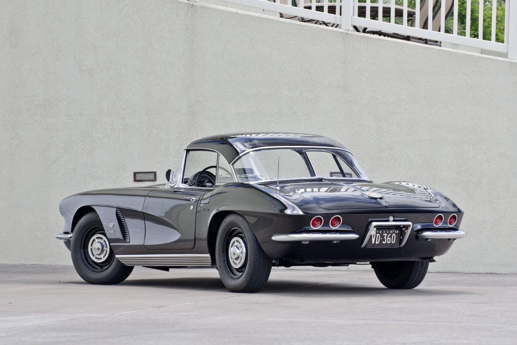 1962 Chevrolet Corvette Convertible Big Brake Fuelie Muscle Classic USA 4200x2800-03 wallpaper