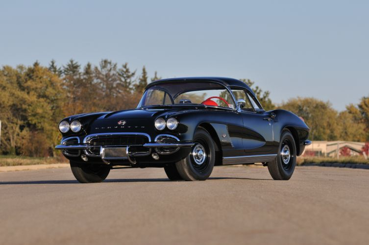 1962 Chevrolet Corvette Convertible Muscle Classic USA 4200x2790-01 wallpaper