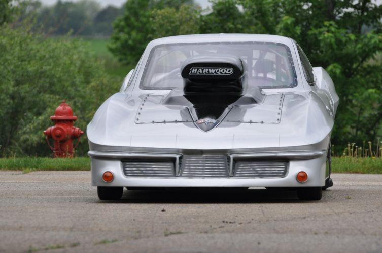 1963 Chevrolet Corvette Drag Racer Funny Car Dragster Drag Race USA 4200x2790-01 wallpaper