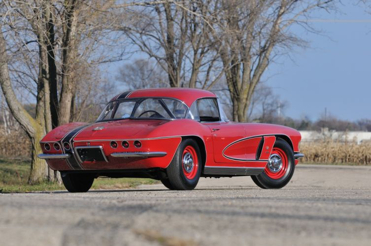 1962 Chevrolet Corvette Convertible Muscle Classic USA 4200x2790-13 wallpaper