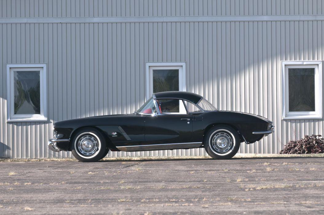 1962 Chevrolet Corvette Convertible Muscle Classic USA 4200x2790-15 wallpaper