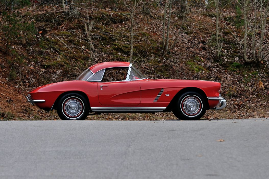 1962 Chevrolet Corvette Convertible Muscle Classic USA 4200x2790-18 wallpaper