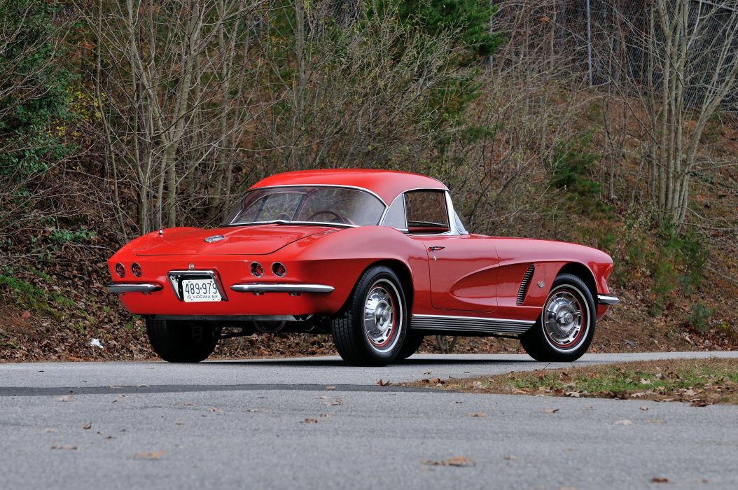 1962 Chevrolet Corvette Convertible Muscle Classic USA 4200x2790-19 wallpaper