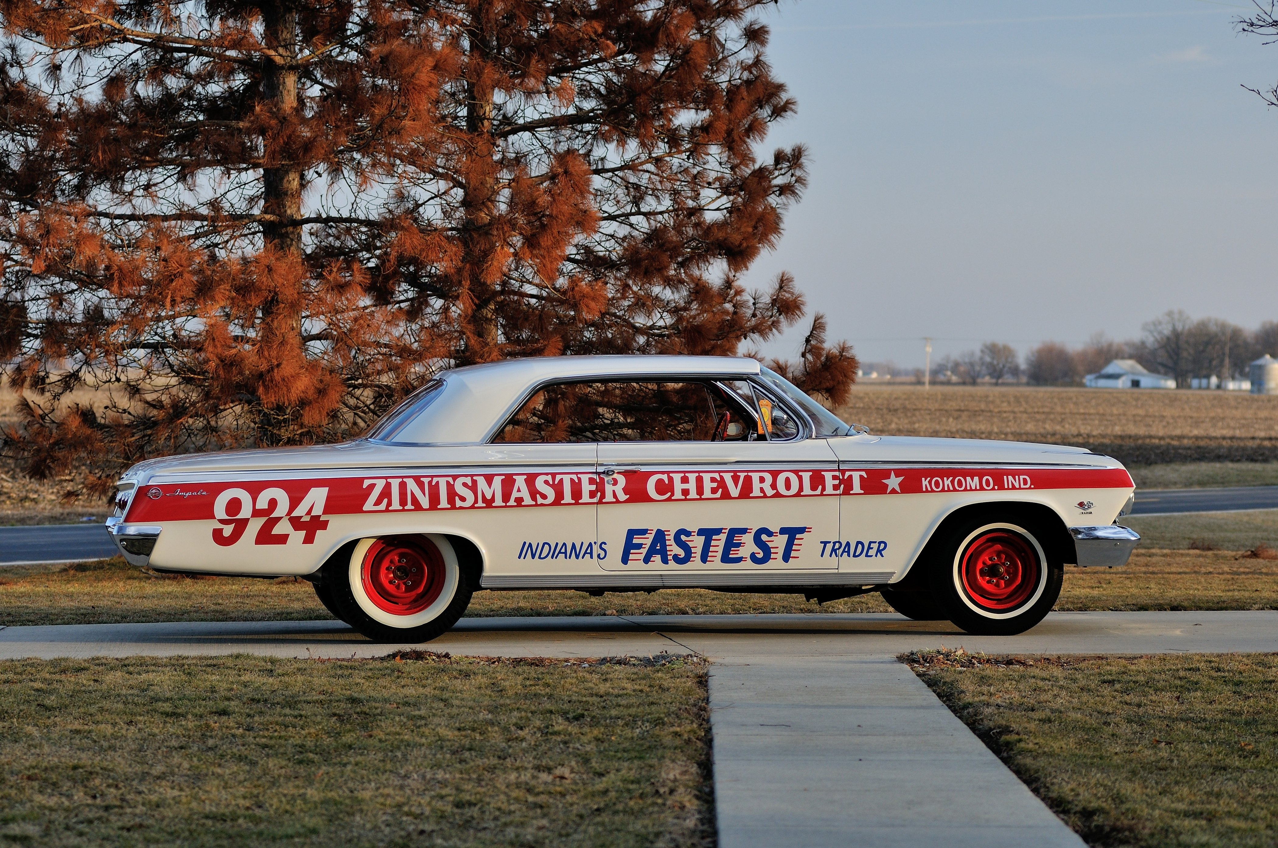 1962 Chevrolet Impala Lightweight NASCAR Race Car Racecar Muscle USA ...
