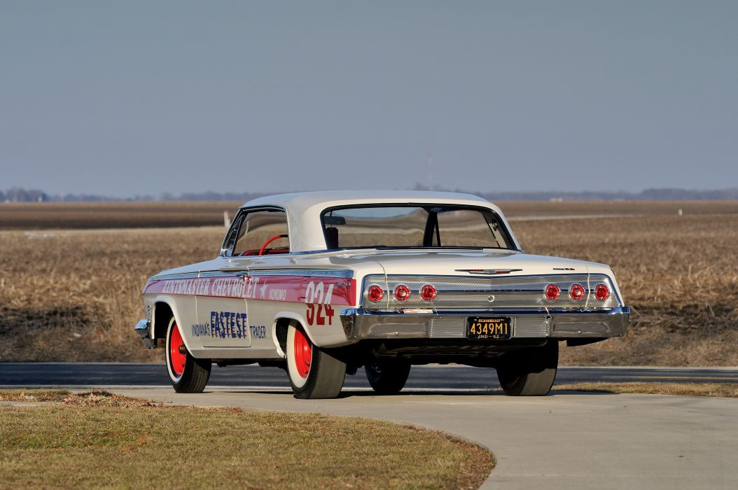 1962 Chevrolet Impala Lightweight NASCAR Race Car Racecar Muscle USA 4200x2790-09 wallpaper
