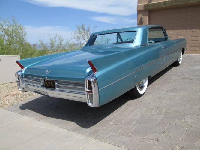 1963 Cadillac Deville Sedan Classic USA 4200x3150-02 wallpaper