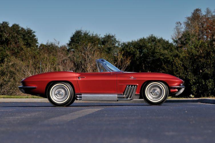 1963 Chevrolet Corvette Convertible Knudsen Muscle Classic USA 4200x2790-02 wallpaper