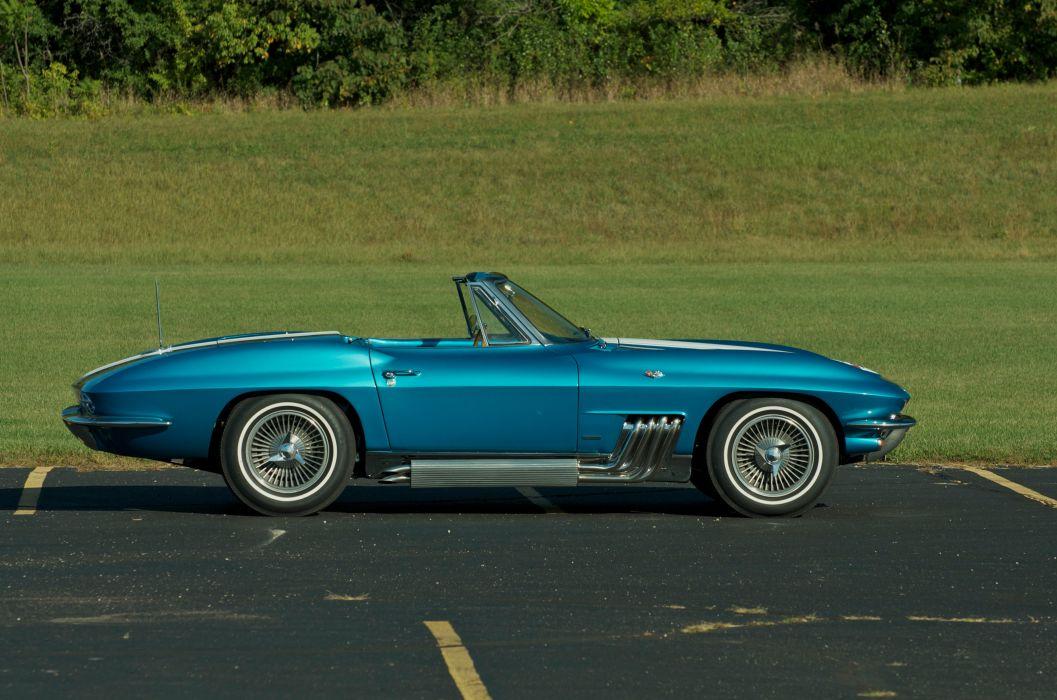 1963 Chevrolet Corvette Convertible Knudsen Muscle Classic USA 4200x2790-08 wallpaper