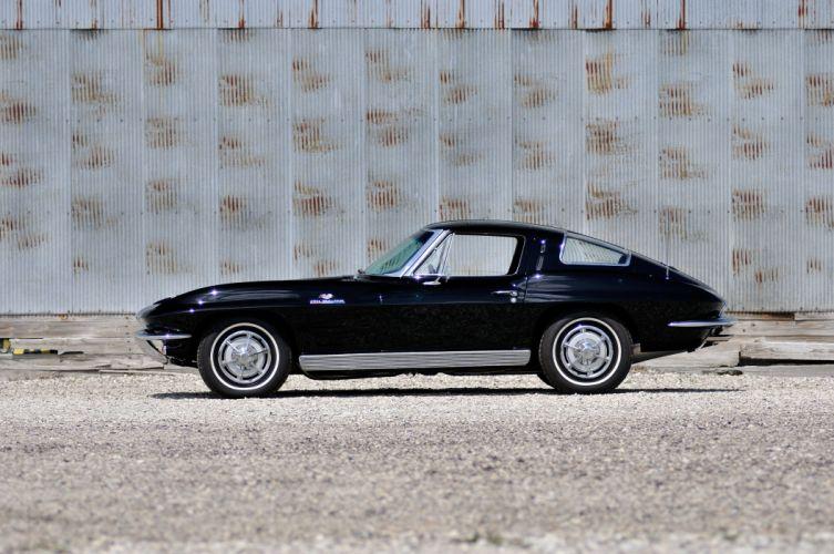 1963 Chevrolet Corvette Sting Ray Muscle Classic USA 4000x2650-01 wallpaper
