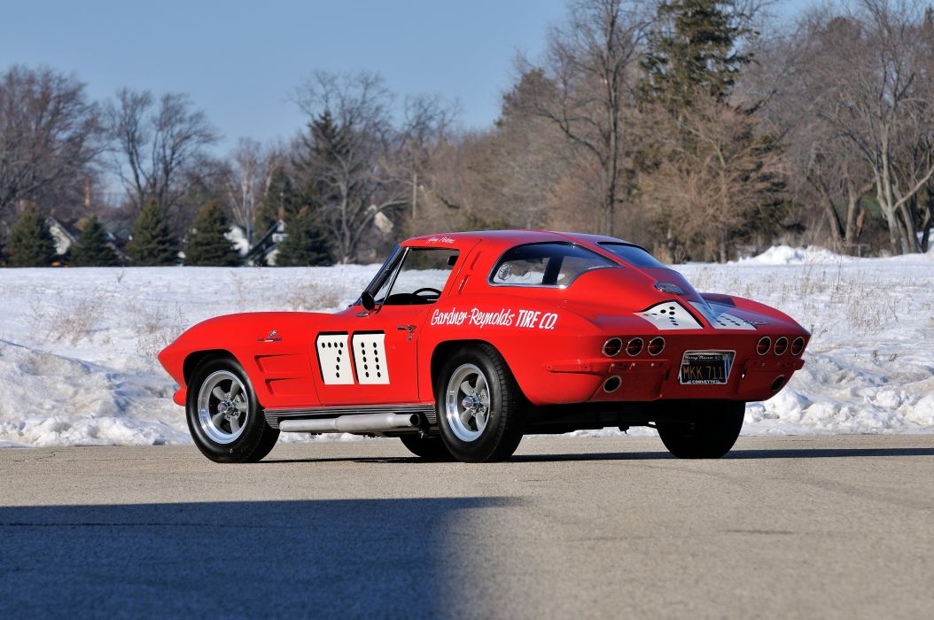 1963 Chevrolet Corvette Race Car Muscle USA 4200x2790-03 wallpaper