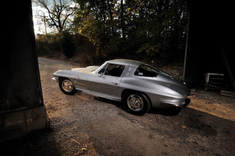 1963 Chevrolet Corvette Stig Ray Z06 Classic USA 4200x2790-02 wallpaper
