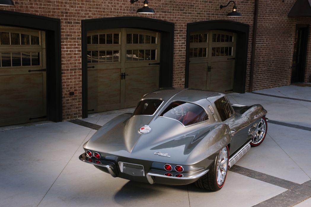 1963 Chevrolet Corvette Streetrod Street Rod Hot Muscle Classic USA 4200x2790-06 wallpaper