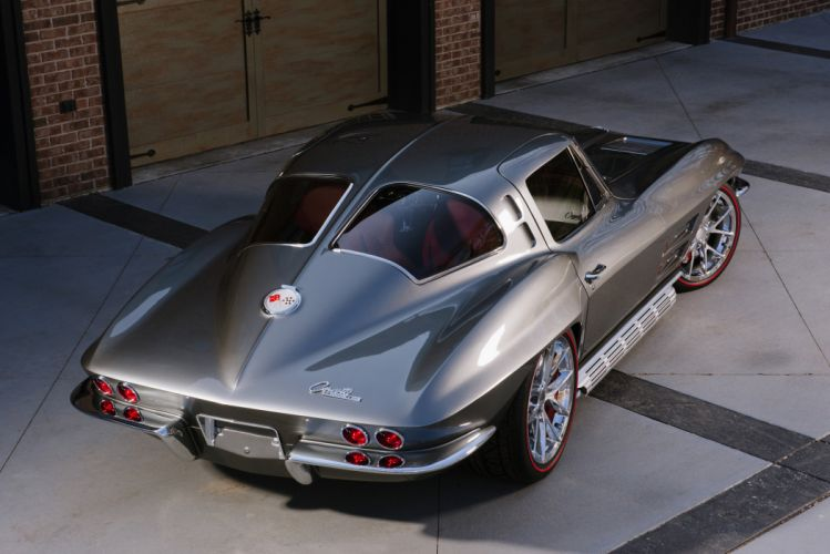 1963 Chevrolet Corvette Streetrod Street Rod Hot Muscle Classic USA 4200x2790-05 wallpaper