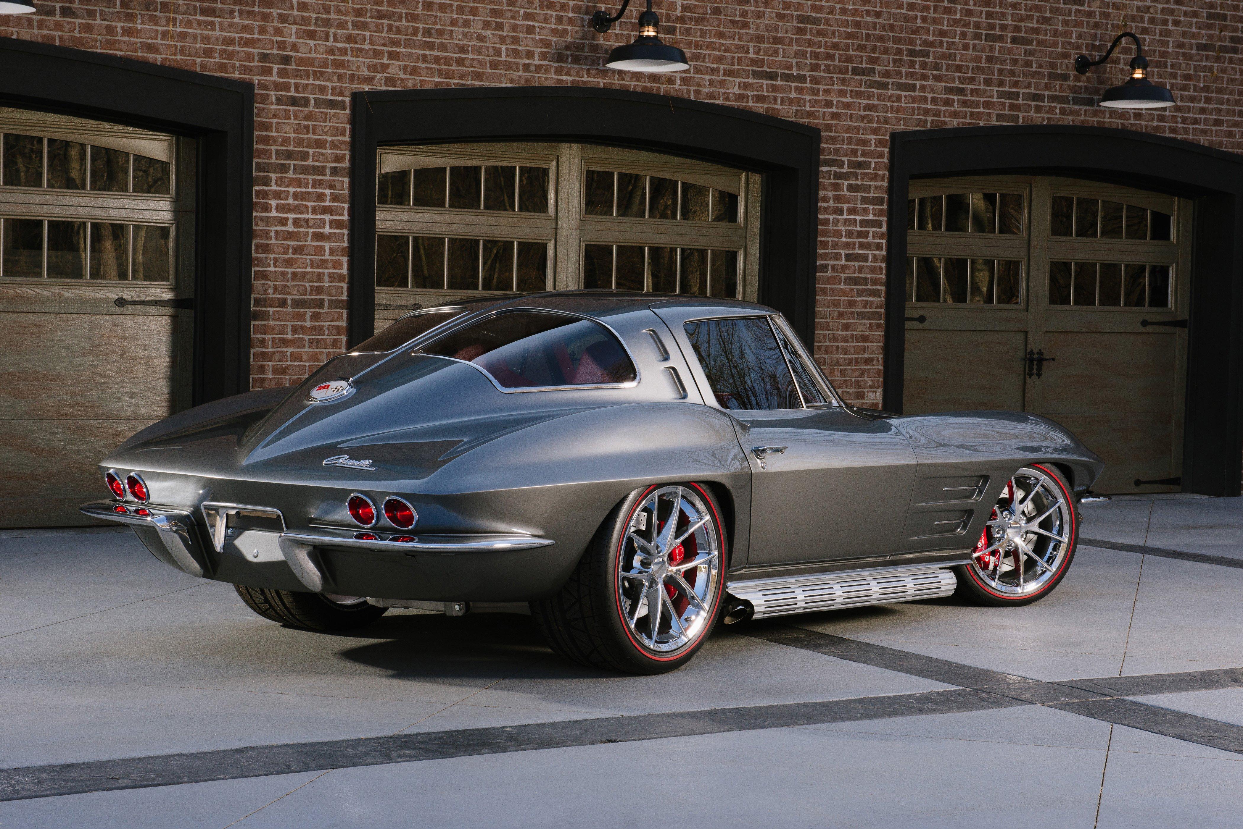 1963 Chevrolet Corvette Streetrod Street Rod Hot Muscle