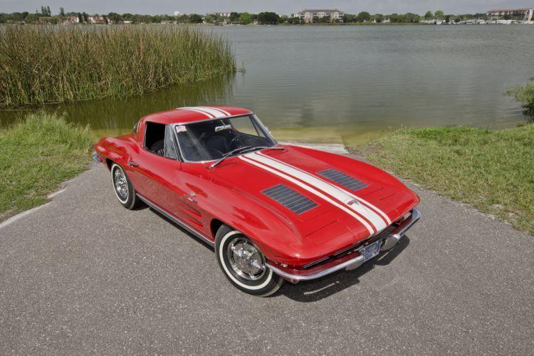 1963 Chevrolet Corvette Sting Ray Z06 Muscle Classic USA 4200x2800-07 wallpaper