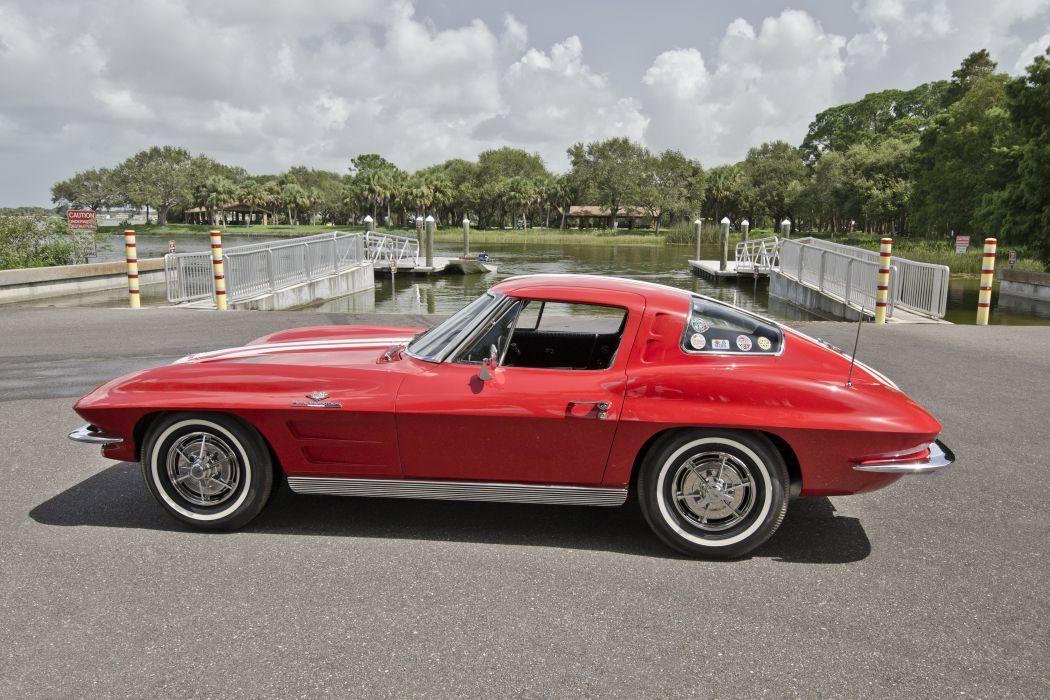 1963 Chevrolet Corvette Sting Ray Z06 Muscle Classic USA 4200x2800-08 wallpaper