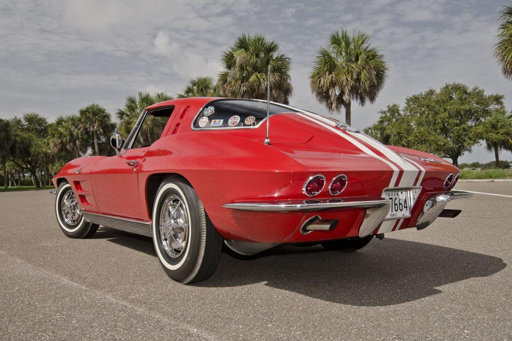 1963 Chevrolet Corvette Sting Ray Z06 Muscle Classic USA 4200x2800-09 wallpaper