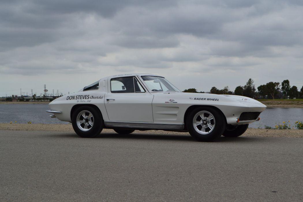 1963 Chevrolet Corvette Sting Ray Z06 Muscle Classic USA 4200x2800-22 wallpaper