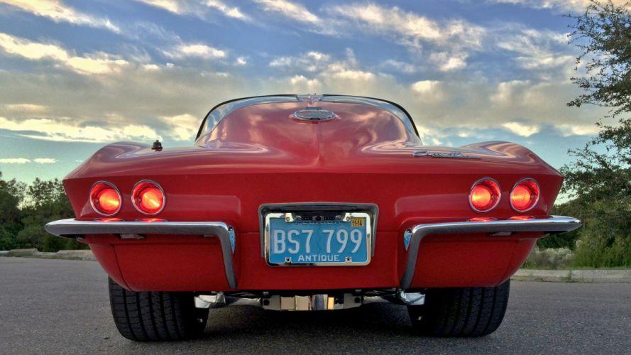 1963 Chevrolet Corvette Streetrod Street Rod Hot Muscle Classic USA 3100x1744-10 wallpaper