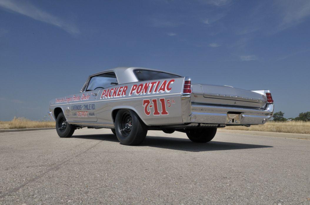 1963 Pontiac Catalina Super Duty Race Car Muscle USA 4200x2790-04 wallpaper