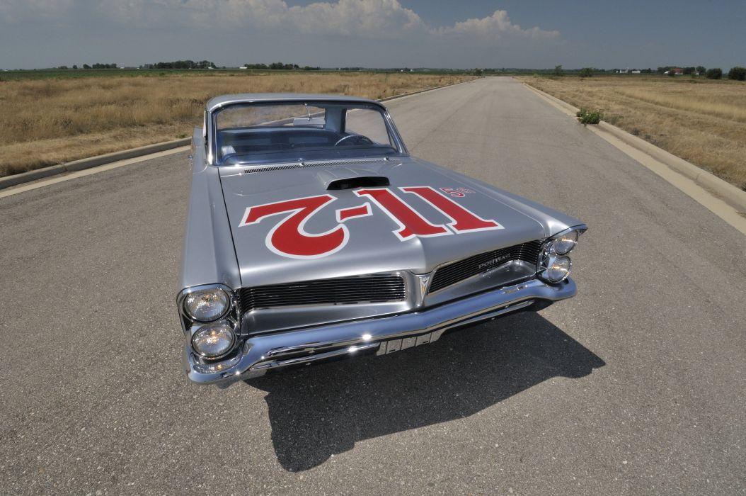 1963 Pontiac Catalina Super Duty Race Car Muscle USA 4200x2790-02 wallpaper