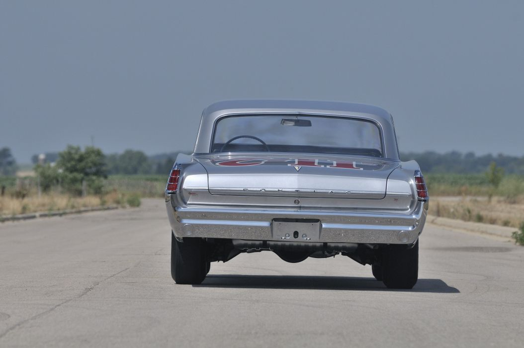 1963 Pontiac Catalina Super Duty Race Car Muscle USA 4200x2790-08 wallpaper