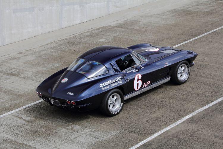 1963 Chevrolet Corvette Z06 Muscle Race Car USA 4200x2800x07 wallpaper