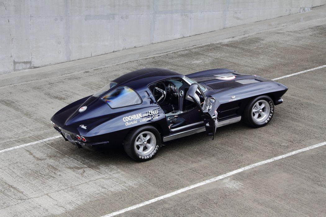1963 Chevrolet Corvette Z06 Muscle Race Car USA 4200x2800x08 wallpaper