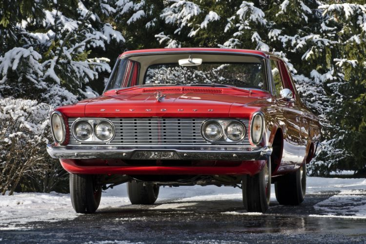 1963 Plymouth Savoy 426 Max Wedge Muscle Classic USA 4200x2800-2 wallpaper