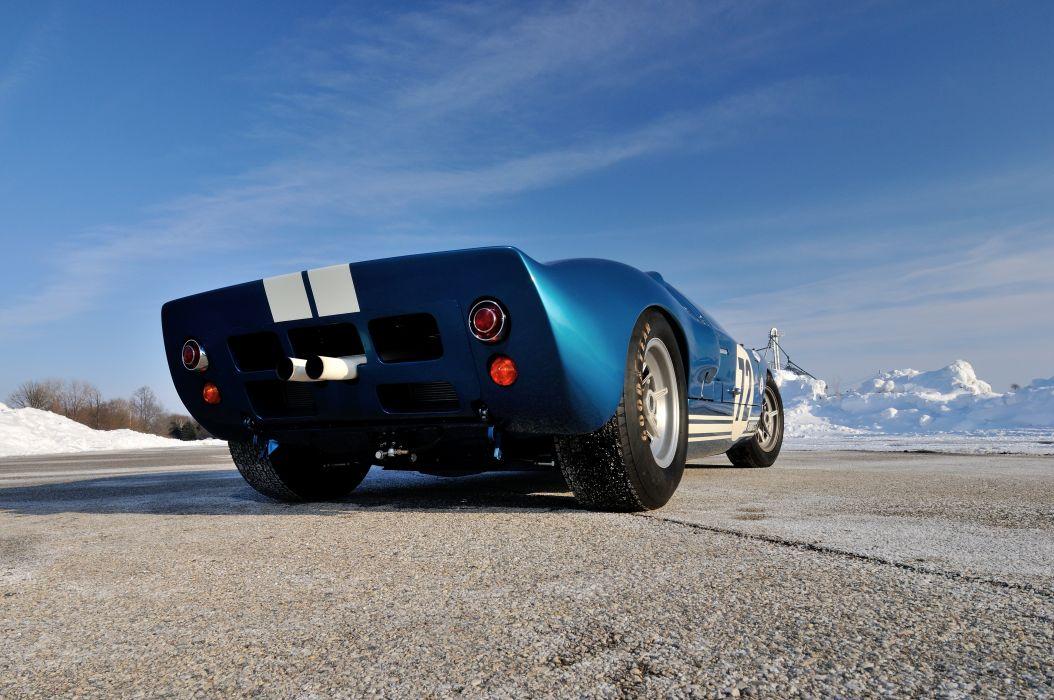 1964 Ford GT40 Race Supercar Classic USA 4200x2790-03 wallpaper