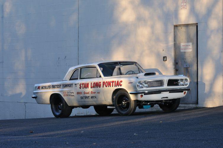 1963 Pontiac Tempest 421 Super Duty Coupe Muscle Race USA 4200x2790-01 wallpaper