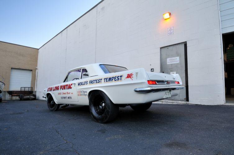 1963 Pontiac Tempest 421 Super Duty Coupe Muscle Race USA 4200x2790-02 wallpaper