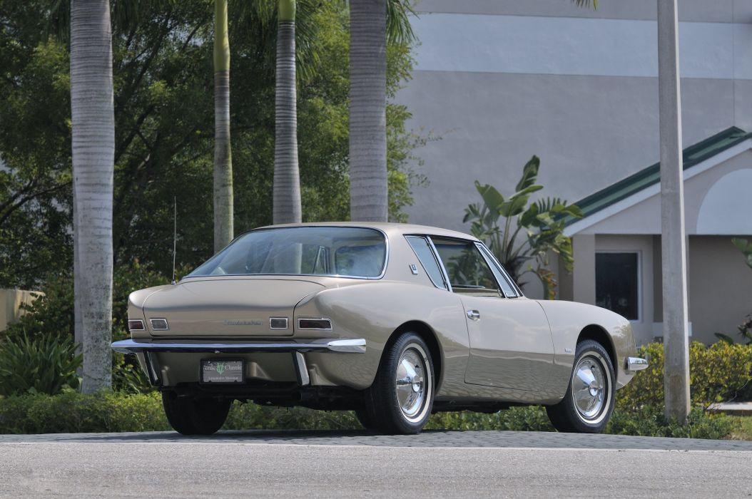1963 Studebaker Avanti Coupe Classic USA 3200x2400-04 wallpaper