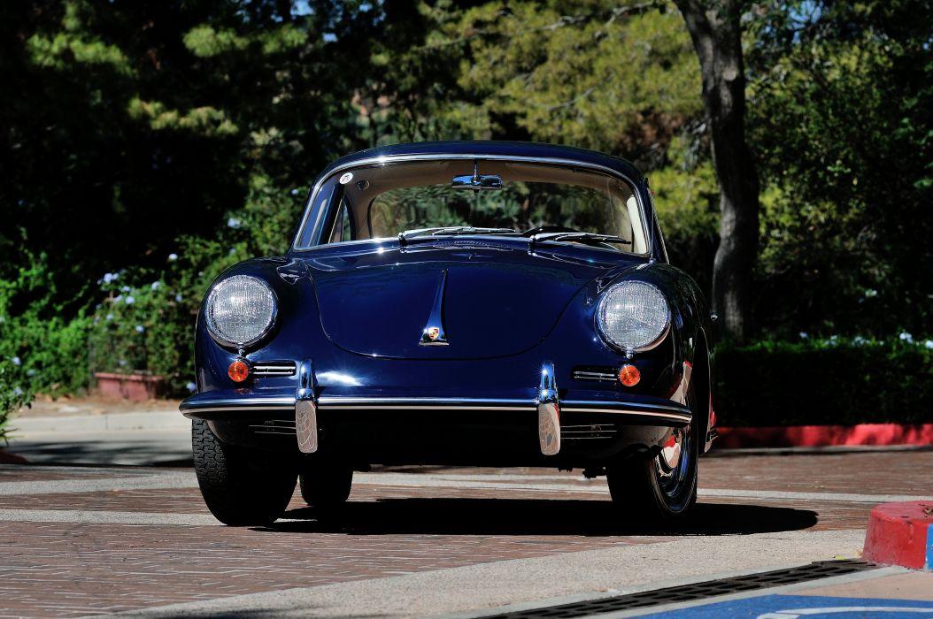 1964 Porsche 356C Coupe Spot Classic 4200x2790-04 wallpaper