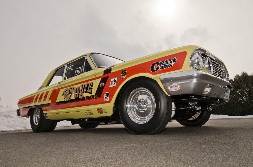 1964 Ford Thunderbolt Dragster Drag Racer Pro stock USA 4200x2800-07 wallpaper