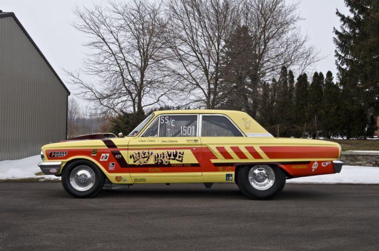 1964 Ford Thunderbolt Dragster Drag Racer Pro stock USA 4200x2800-08 wallpaper