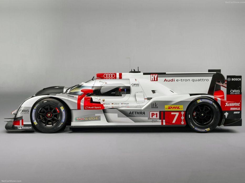 Audi R18 E Tron Quattro Racecars Cars 2015 Wallpaper