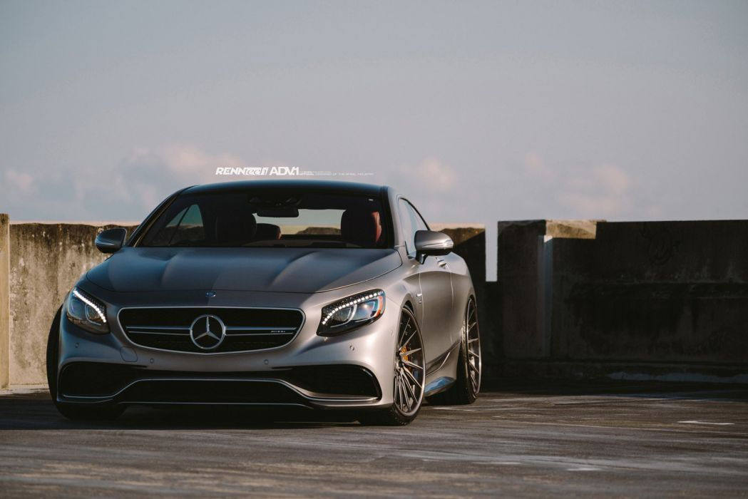 2015 adv1 wheels tuning cars MERCEDES S63 AMG COUPE wallpaper