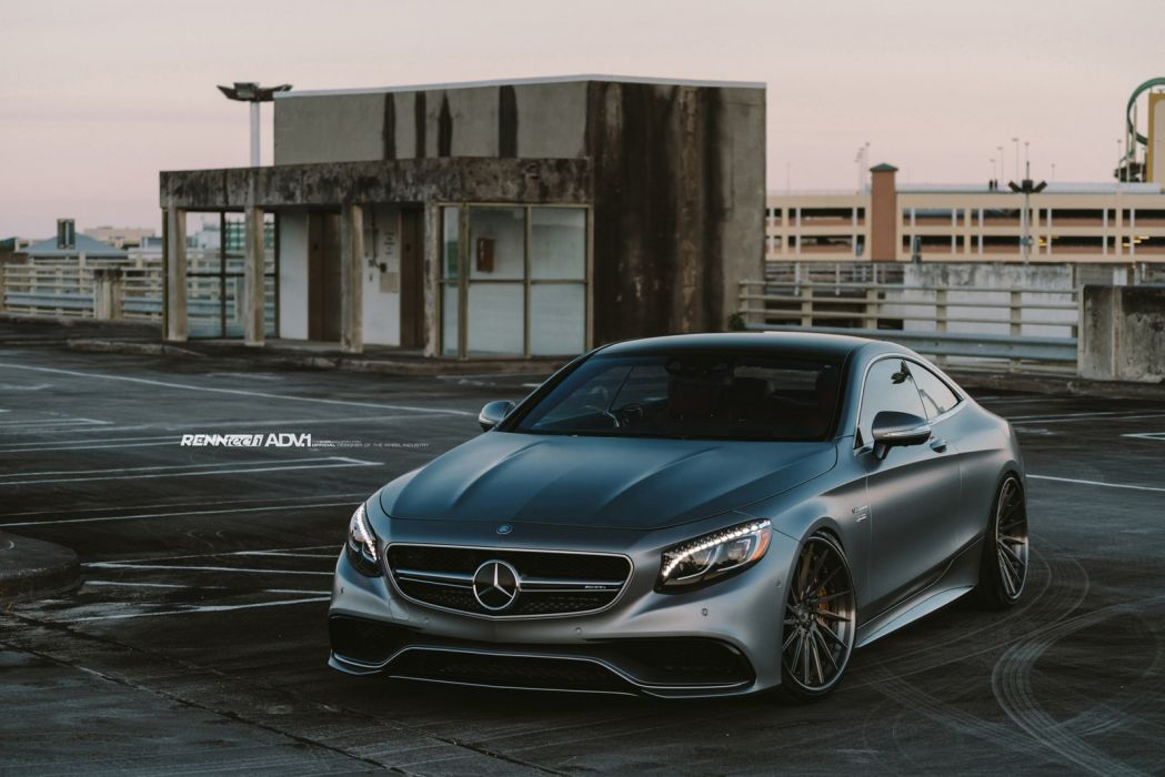 2015 Adv1 Wheels Tuning Cars Mercedes S63 Amg Coupe