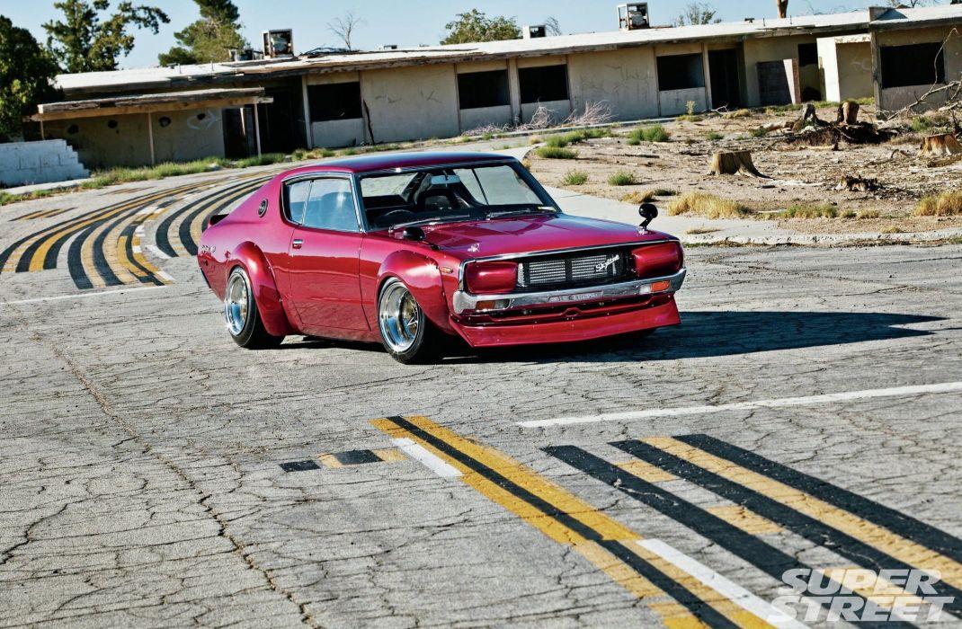 1973 nissan skyline 2000 GT X widebody cars wallpaper