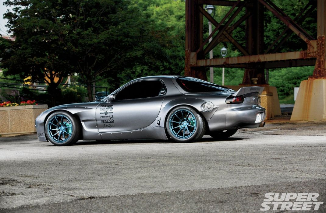 1993 Mazda RX-7 Widebody cars wallpaper