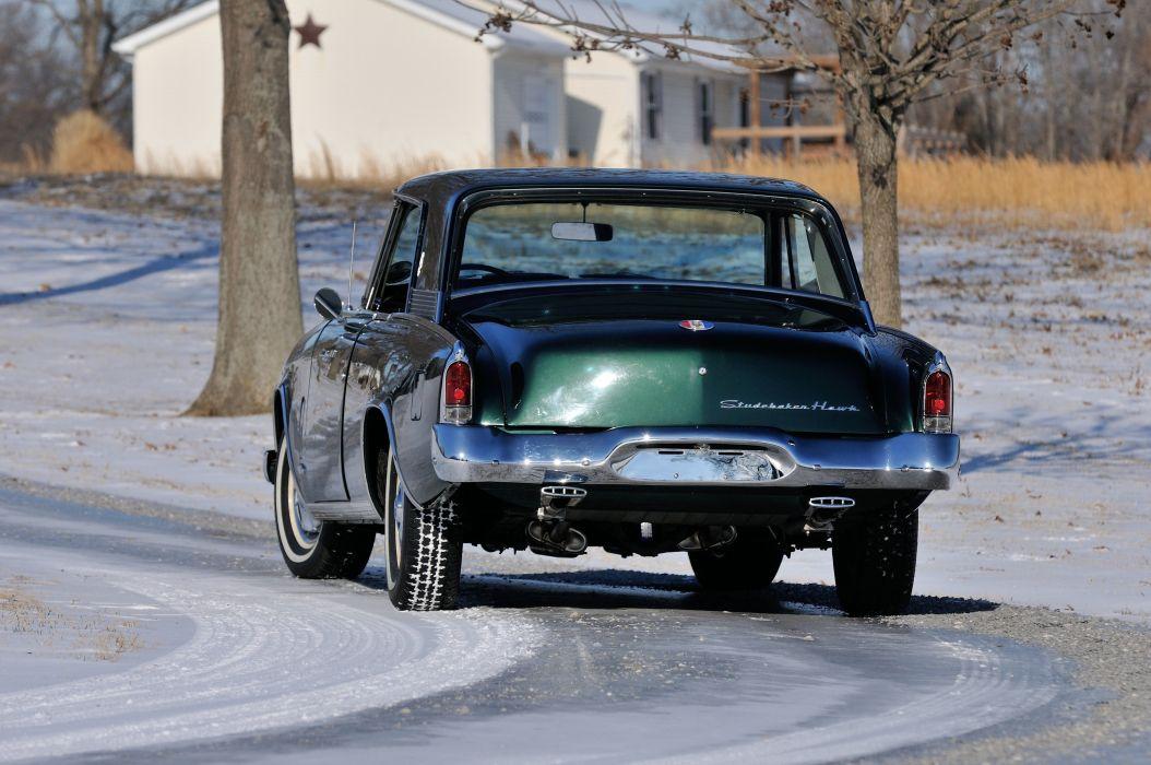 1964 Studebaker Gran Turismo Hawk Coupe Classic USA 4200x2790-06 wallpaper
