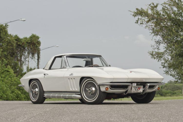 1965 Chevrolet Corvette Convertible Sting Ray Muscle Classic USA 4200x2800-01 wallpaper