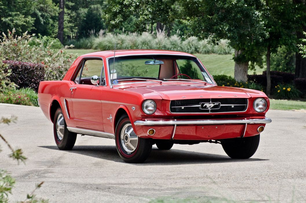 1965 Ford Mustang Coupe Muscle Classic USA 4200c2790-02 wallpaper