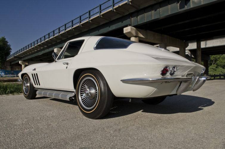 1966 Chevrolet Corvette Coupe Muscle Classic USA 4200x2800-09 wallpaper