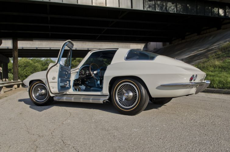 1966 Chevrolet Corvette Coupe Muscle Classic USA 4200x2800-14 wallpaper