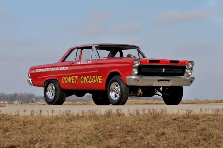1965 Mercury Comet 427 SOHCA FX Super Cyclone Gasser Dragster Drag Race Pro Stock USA 4200x2790-01 wallpaper